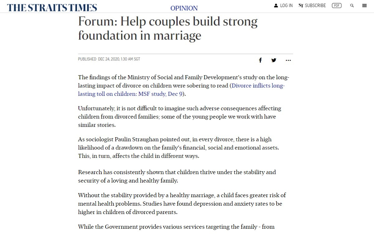 Focus Upstream on Helping Young Couples Do Life Together