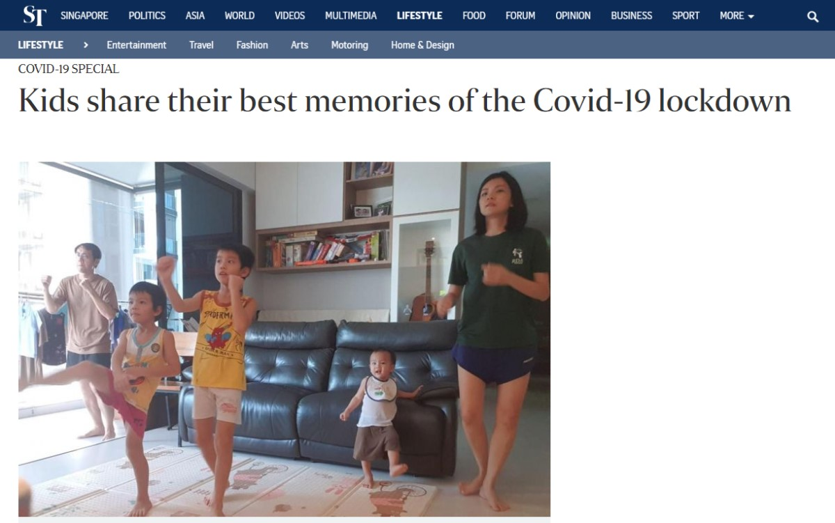 Kids Share Their Best Memories of the COVID-19 Lockdown